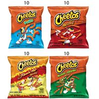 Cheetos Cheese Flavored 40 Pack