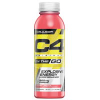 Cellucor C4 On The Go Pre Workout Energy Drink Cherry Limeade 346ml (11.7 Fl Oz) x 12