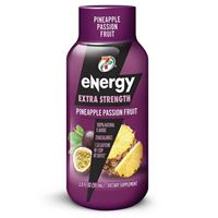 7-Select Extra Strength Energy Shot Pineapple Passion Fruit 59.1 ml (2oz) x 12