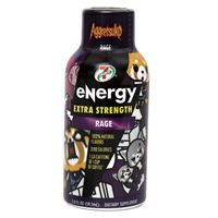 7-Select Extra Strength Energy Shot Aggretsuko Rage (Tiger's Blood) 59.1 ml (2oz) x 12