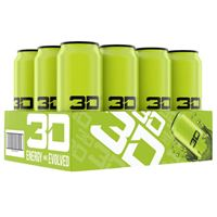 3D Energy Drink Green 473ml 16oz x 12