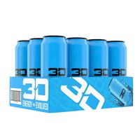 3D Energy Drink Blue 473ml 16oz x 12