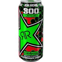 Rockstar XDurance Energy Drink Super Sours Green Apple 473ml (16oz) x 24