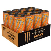 Monster Maxx Mango Matic Zero Sugar Energy Drink 355ml (12oz) x 12