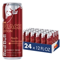 Red Bull Energy Drink Peach-Necountarine 355ml (12oz) x 24 pack