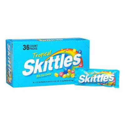 Skittles Tropical Candy (2.17 oz. x 36 ct.)