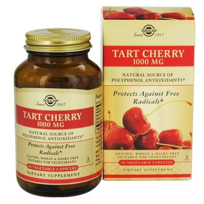 Tart Cherry 1000 mg 90 vegetable capsules