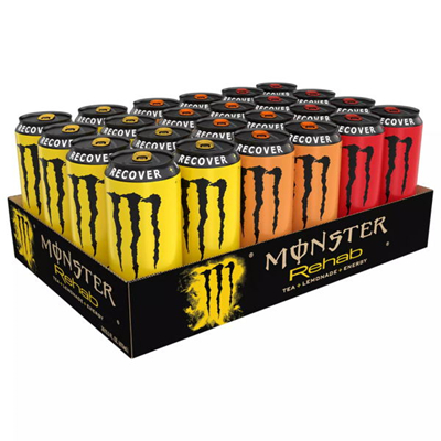 Monster Rehab Energy Variety 458ml (15.5 oz) x 24