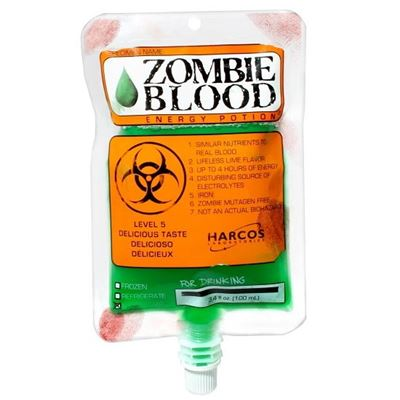 Zombie Blood Energy Potion 100ml (3.4 oz) x 12 Pack