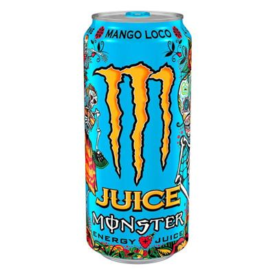 Monster Energy Juice Mango Loco 473ml (16oz) x 24 cans